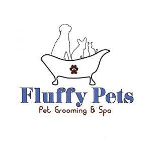 Fluffy Pets Spa Logo